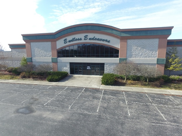 Cridersville Entertainment Building Aerial