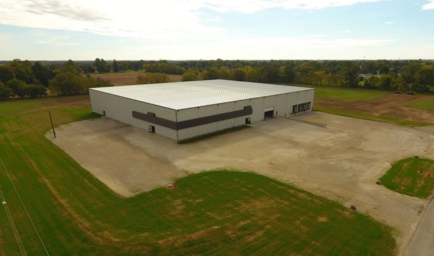 Speculative Industrial Building is Shell Complete